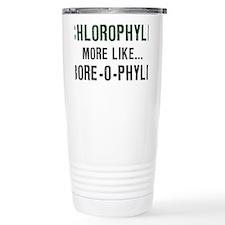 Chlorophyll-(white-shirt) Travel Mug