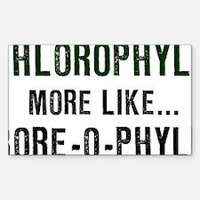 Chlorophyll-(white-shirt) Decal