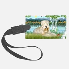 LIC-Birches-Wheatenterrier1 Luggage Tag