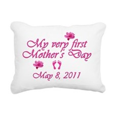 mothers day first2011 pi Rectangular Canvas Pillow