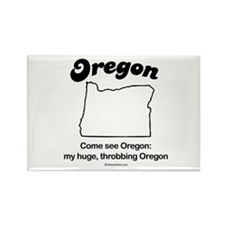 Oregon - come see oregon Rectangle Magnet