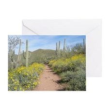 Lake Pleasant Spring Greeting Card