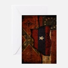 camden-central flag ipad case Greeting Card