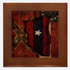 camden-central flag ipad case Framed Tile