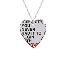 bukowski5 Necklace