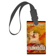 Steamrolled greeting card Luggage Tag