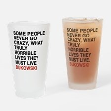 bukowski6 Drinking Glass