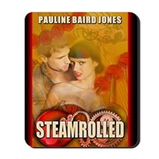 Steamrolled greeting card Mousepad