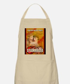 Steamrolled greeting card Apron