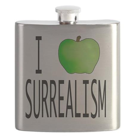 I apple SURREALISM copy Flask