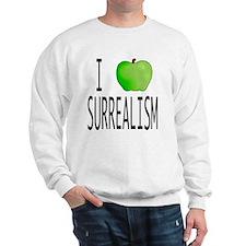 I apple SURREALISM copy Sweatshirt