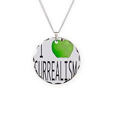 I apple SURREALISM copy Necklace