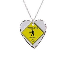 WARNING chemist at play Necklace