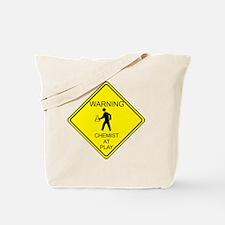 WARNING chemist at play Tote Bag