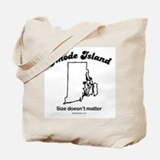 Rhode Island - size doesn't matter Tote Bag