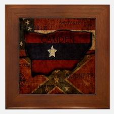 camden-central flag print card Framed Tile