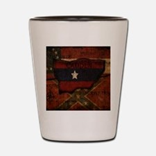 camden-central flag print card Shot Glass
