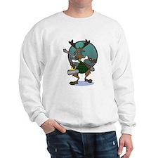 Curling Moose Sweater