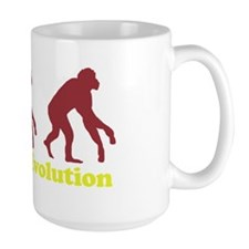 Teaparty Evolution Mug