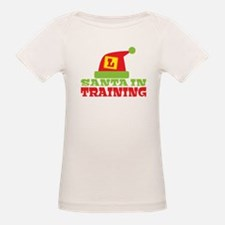 Santa in Training with an L plate T-Shirt