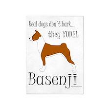 Basenji - They Yodel 5'x7'Area Rug