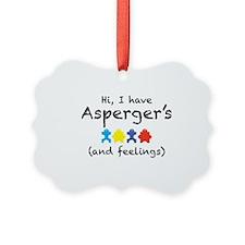 aspergersfeelings Ornament