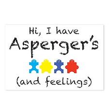 aspergersfeelings Postcards (Package of 8)