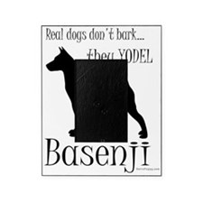 Basenji - They Yodel Picture Frame