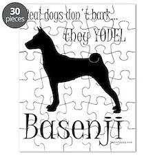 Basenji - They Yodel Puzzle