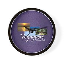 voyageurs3asq Wall Clock