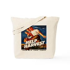 Help Harvest 10x10 Tote Bag