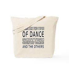 Scottish Country Dance Designs Tote Bag