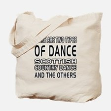 Scottish Country Dance Designs Tote Bag