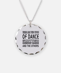 Scottish Country Dance Designs Necklace