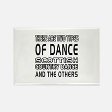 Scottish Country Dance Designs Rectangle Magnet