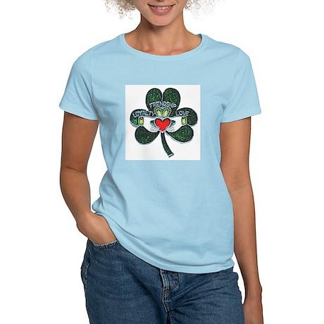 Shamrock Claddagh Women's T-Shirt