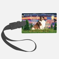 LIC-Blessed-ShetlandSheepdog7 Luggage Tag