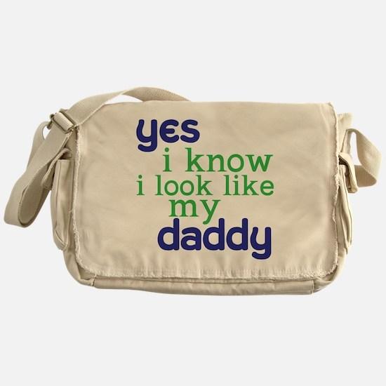 baby shirt 4-8copy Messenger Bag