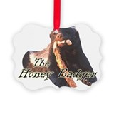 Honey badger Picture Frame Ornaments