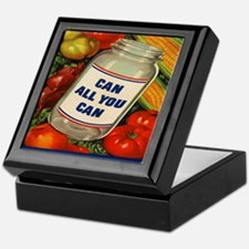 Can All You Can 10x10 Keepsake Box