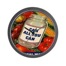 Can All You Can 10x10 Wall Clock