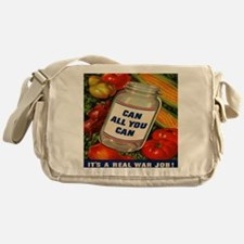 Can All You Can 10x10 Messenger Bag