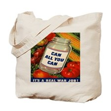Can All You Can 10x10 Tote Bag