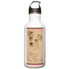 Jack_Russell_Smooth_Kl Water Bottle