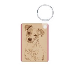 Jack_Russell_Smooth_KlineY Keychains