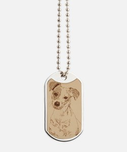 Jack_Russell_Smooth_KlineY Dog Tags
