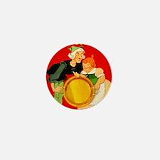 Lick the Platter Clean Mini Button