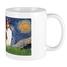 LIC-StarryNight-Sheltie7 Mug