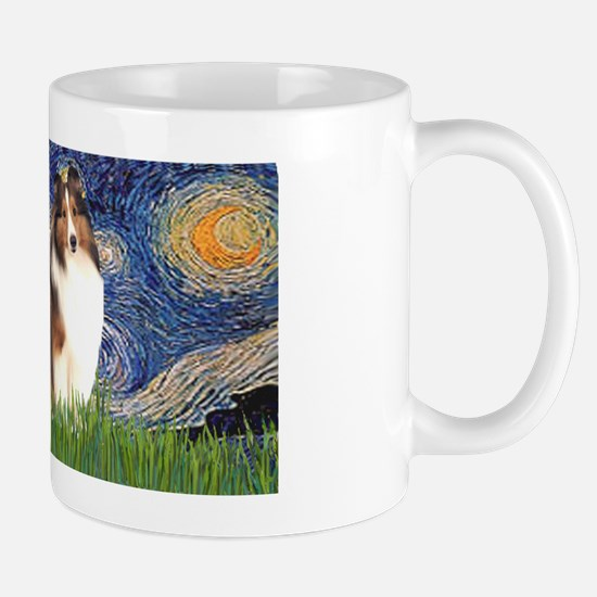 LIC-StarryNight-Sheltie7 Mug
