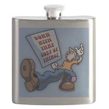 truckn-sign-BUT Flask